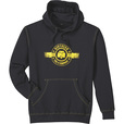 FREE SHIPPING — Gravel Gear Men's Pullover Hoodie with NTE Graphics — Black, 2XL The price is $24.99.