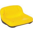 Tractor Seat — Yellow, Model# TS33-17602