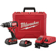FREE SHIPPING — Milwaukee® M18™ 1/2in. Compact Brushless Drill/Driver Kit — 2 Batteries, Charger, Model# 2701-22CT The price is $199.00.