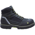 Wolverine Men's Overman 6in. Composite Toe Waterproof Work Boots —Black/Gray, Size 13 Extra Wide, Model# W10484 The price is $164.99.