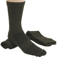 FREE SHIPPING - Gravel Gear Men's Ultra-Dri Midweight Socks - 2-Pair, Crew Length, Olive The price is $7.79.