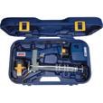 Lincoln PowerLuber Cordless  Grease Gun Kit — 12V, 6000 PSI, 2 Batteries, Model# 1244 The price is $199.99.