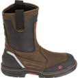 Wolverine Men's Overman 10in.Composite Toe Waterproof Wellington Boots - Brown/Black, Size 12, Model# W10488 The price is $174.00.