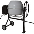 Klutch Portable Electric Cement Mixer —  6 Cubic Ft. Drum