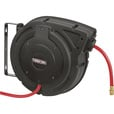 Ironton Compact Air Hose Reel — With 3/8in. x 50ft. Hybrid Polymer Hose, Max. 300 PSI The price is $79.99.