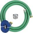 JGB Enterprises Pump Hose Kit — 3in. Dia., 15ft. Suction Hose, 20ft. Discharge Hose, Model# A007-NTEHOSEKIT-3
