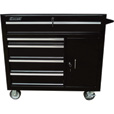 Excel 5-Drawer Rolling Tool Cabinet — 1,000-Lb. Capacity, Model# TB4015B-BLACK The price is $529.99.