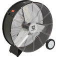 Strongway Open Motor Direct-Drive Drum Fan — 30in., 1/4 HP, 9000 CFM The price is $144.99.