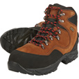 Gravel Gear Men's 7in. Waterproof Steel Toe Mid Hiker Work Boots — Brown