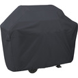Classic Accessories Grill Cover — XXL, Black, Fits Grills Up To 74in.L x 26in.D x 51in.H, Model# 55-309-060401-00 The price is $29.99.