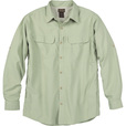 FREE SHIPPING - Gravel Gear Men's UPF 30 Quick-Dry Polyester Ripstop Shirt - Long Sleeve, Light Sage, 2XL The price is $28.99.