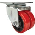 Strongway 6in. Swivel Heavy-Duty Dual-Wheel Caster — 1,800-Lb. Capacity, Polyurethane Wheels/Polypropylene Core The price is $29.99.