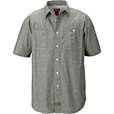 FREE SHIPPING — Gravel Gear Chambray Short Sleeve Work Shirt with Teflon — Regular Sizes