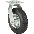 Ironton 8in. Swivel Pneumatic Caster — 250-Lb. Capacity, Knobby Tread The price is $27.99.