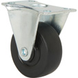 Ironton Light-Duty 2in. Rigid Nonmarking Polyolefin Caster — 100-Lb. Capacity, Black The price is $2.99.