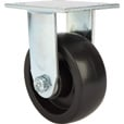 Strongway Heavy-Duty 5in. Rigid Nonmarking Polyolefin Caster — 550-Lb. Capacity, Black The price is $19.99.