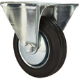 Ironton 4in. Rigid Rubber Caster — 155-Lb. Capacity The price is $5.99.