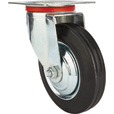 Ironton 6in. Swivel Rubber Caster — 320-Lb. Capacity The price is $13.00.