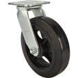Strongway 8in. Heavy-Duty Swivel Rubber Caster — 800-Lb. Capacity The price is $21.74.