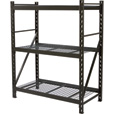 Strongway Steel Shelving — 60in.W x 30in.D x 72in.H, 3 Shelves The price is $209.99.