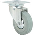 Strongway 3in. Swivel Nonmarking Rubber Caster — 155-Lb. Capacity The price is $4.69.