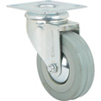 Strongway 3in. Swivel Nonmarking Rubber Caster — 155-Lb. Capacity The price is $3.74.