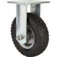 Strongway 6in. Rigid Flat-Free Rubber Foam-Filled Caster — 200-Lb. Capacity, Knobby Tread The price is $22.99.