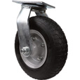 Strongway 8in. Swivel Flat-Free Rubber Foam-Filled Caster — 250-Lb. Capacity, Knobby Tread The price is $22.49.