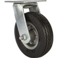 Strongway 6in. Swivel Flat-Free Rubber Foam-Filled Caster — 200-Lb. Capacity, Sawtooth Tread The price is $19.49.