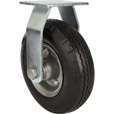 Strongway 8in. Rigid Flat-Free Rubber Foam-Filled Caster — 250-Lb. Capacity, Sawtooth Tread The price is $27.99.