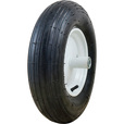 Marathon Tires Pneumatic Wheelbarrow Tire — 3/4in. Bore, 4.80/4.00–8in. The price is $27.99.