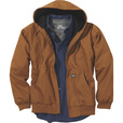 FREE SHIPPING — Gravel Gear Men's Hooded Thermal-Lined Duck Work Jacket with Teflon Fabric Protector The price is $59.99.