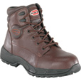 Iron Age Men's 6in. Steel Toe EH Sport/Work Boots- Brown, Size 9 1/2 Wide, Model# IA5100