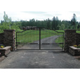 FREE SHIPPING — Mighty Mule Driveway Gate — Double Gate, Biscayne, 16ft.W x 6ft.H, Model# G2716-KIT