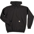 Carhartt Men's Hooded Pullover Sweatshirt - Black, Small, Regular Style, Model# K121 The price is $39.99.