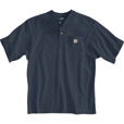 Carhartt Men's Short Sleeve Workwear Henley - Bluestone, XL Tall, Model# K84 The price is $18.99.