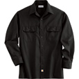 Carhartt Men's Long Sleeve Twill Work Shirt - Black, XL, Regular Style, Model# S224 The price is $24.99.