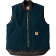 Carhartt Men's Sandstone Arctic Quilt Lined Vest — Tall Sizes, Model# V02