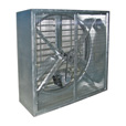 J & D Mfg. Wallmaster Exhaust Fan — 36in. Dia., 9,000 CFM, 4 Wing Blade, Model# VF36GG The price is $669.99.