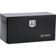 Northern Tool + Equipment Underbody Gloss Black Truck Tool Box with Drawer — Steel, 36in. The price is $379.99.