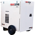 HeatStar Direct-Fired Forced Air Heater — 250,000 BTU, 2,100 CFM, Forced Air, Model# F109120 The price is $2,679.99.