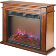 Profusion Heat Infrared Fireplace with 3-Color Flame — 5180 BTU, Model# FP406R-Q