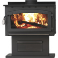 Wood Stove — 107,000 BTU, EPA Certified, Model# 2016EB The price is $649.99.