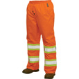 Work King Men's Class 2 High Visibility Rain Pants — Lime, Regular Sizes, Model# S34711