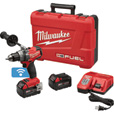 FREE SHIPPING — Milwaukee M18 FUEL Li-Ion Cordless Electric Drill/Driver Kit with ONE-KEY — With 2 Batteries, 1/2in. Keyless Chuck, 2000 RPM, Model# 2705-22 The price is $329.00.