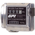 FREE SHIPPING — GPI Mechanical Fuel Meter — 3/4in. Inlet/Outlet, 4 to 20 GPM, Model# FM200-G6N The price is $159.99.
