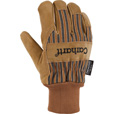 Carhartt Men's Knit Cuff Suede Work Gloves - Brown, Large, Model# A551 The price is $10.20.