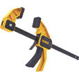 DEWALT 12in. Large Trigger Clamp, Model# DWHT83193 The price is $19.99.