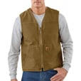 Carhartt Men's Rugged Vest With Sherpa Lining - Brown, XL, Model# V26-BG The price is $59.99.