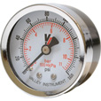 Valley Instrument Grade B Back Mount 2in. Dry Gauge — 0-160 PSI The price is $8.99.